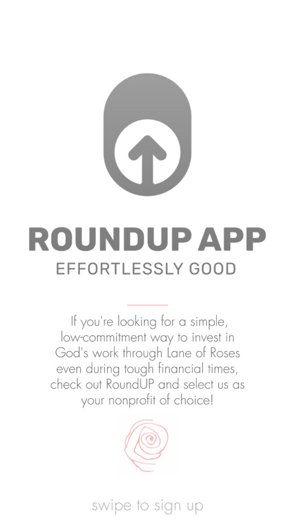 RoundUp App Lane of Roses call-to-action